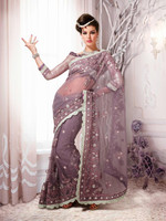 Trendy Party Wear New http://sareeexotica.trustpass.alibaba.com/product/Designer Saree Bhagalpuri Embroidery Bollywood SariR3896