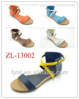 Stylish Ankle Strap Latest Sandals For Women 2013