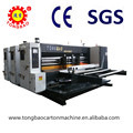 TB 800 lead edge feeding two colour printing slotting machine