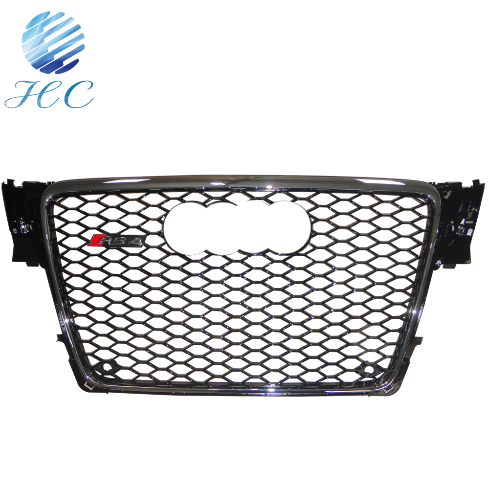 wholesale for audi A4 change to A4 B8 RS4 grille
