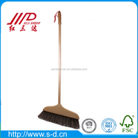 best quality long wooden handle broom horse hair household dust cleaning brush wholesale