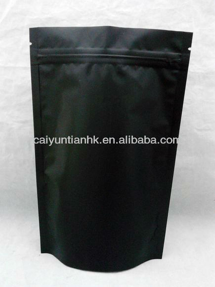 for 200g,250g,500g Customed Factory Direct Aluminum Foil Stand Coffee Bags One Way Valve