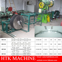 High Speed BTO-22,CBT-60,65 Concertina Razor Fence Barbed Wire Making Machine