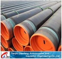 high production 3 layer PE steel pipes made in china