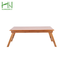 Customize Newest bamboo furniture home laptop table on bed kang table
