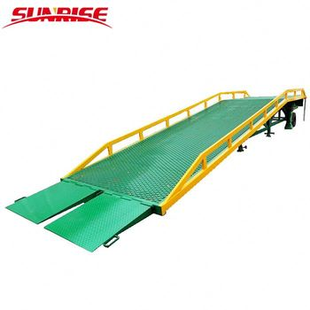 15T Warehouse widely used movable loading dock ramp for sale