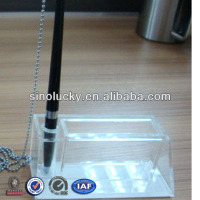 Acrylic Stationary Holder Plexiglass Pen Holder