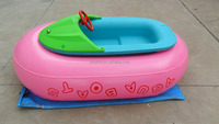 The boat pvc electric bumper boat used water park slides for sale