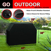 water proof weather resistent velcro closure for secure fitting BBQ cover