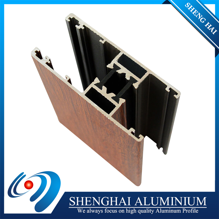 Competitive price powder coated aluminum thermal barrier door