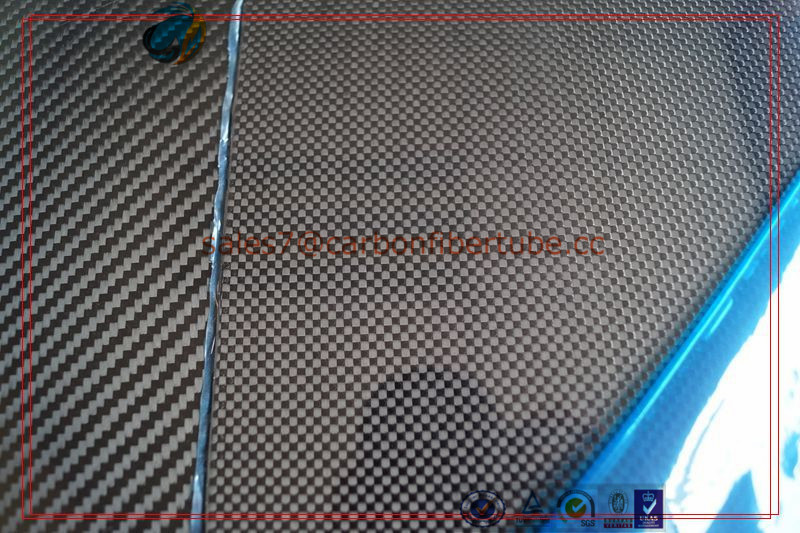 High precision 2X500X400mm 3K plain/twill matte full 100% carbon fiber plate, carbon fiber sheet 2mm