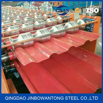 corrugated color steel metal roofing sheet