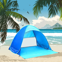 2016 Portable Outdoor Camping Tent, 2-3 Persons Quick Automatic Pop up Instant Cabana Beach Camping Tent