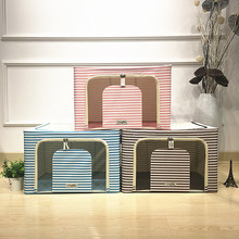 2017 High Quality Fabric Foldable Clothes Toy Storage Box