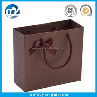 Cheap paper shopping carrying bag for cloth