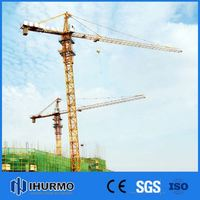 0-25ton Economical construction site tower cranes