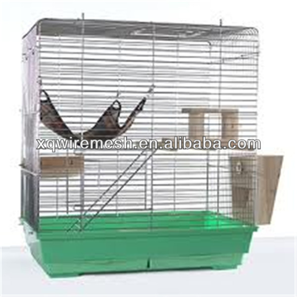 "48x32x22"" Large Cat Rabbit Chinchillas Ferret Pet Cage 2 Door Playpen Wire Crate"