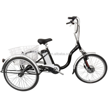 "24"" Alloy Electric Shopping Tricycle(FP-ETRI01)"