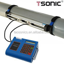 Ultrasonic bracket sensor 4-20mA portable flow meter