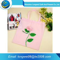 2015 new design eco 210t polyester foldable shopping bag
