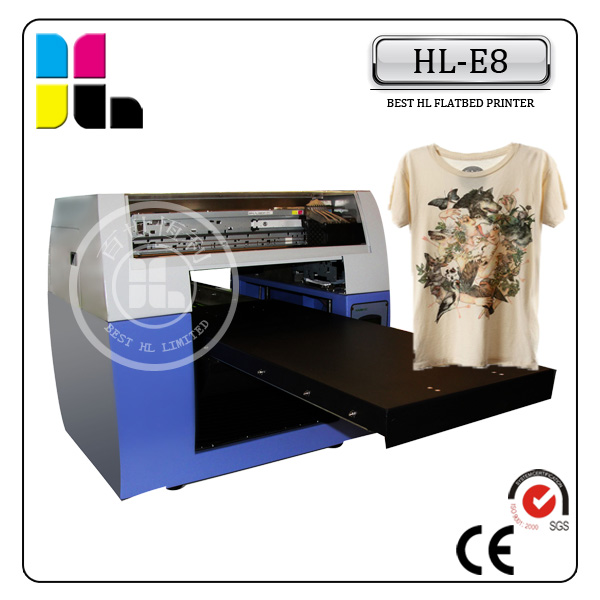 Custom t shirt printing white ink support all colors can for Custom t shirt digital printing