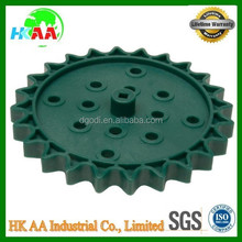 high strength plastic sprocket for conveyors, plastic sprocket chain wheel
