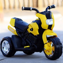 2016 New design big kids 6v electric motorcycle, kids ride on toy car motorbike