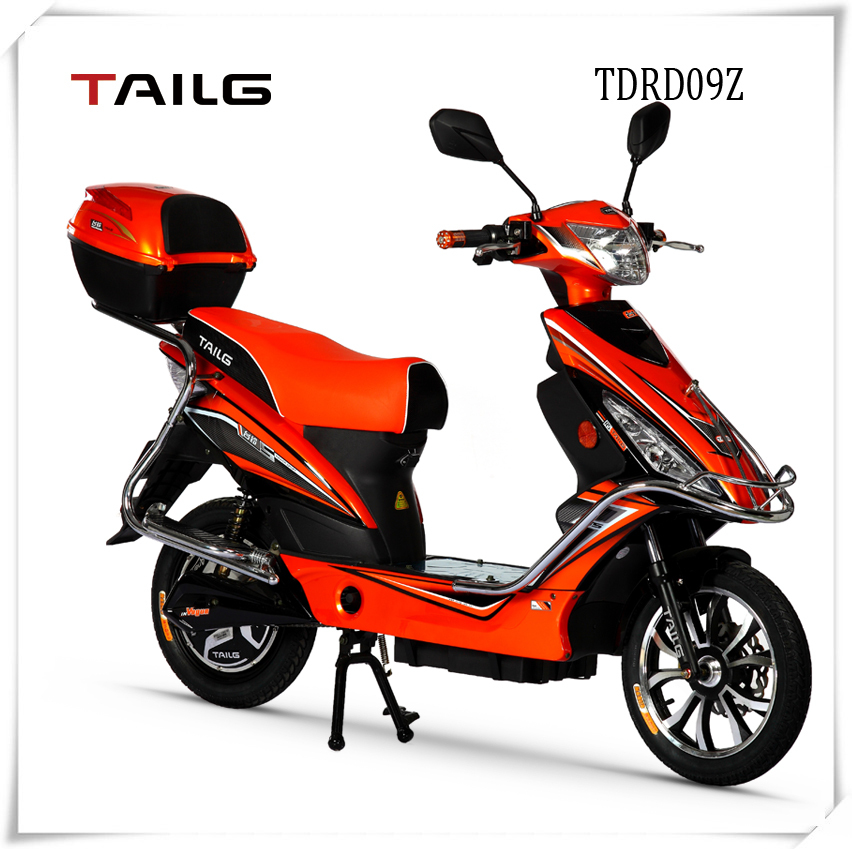 dongguan TAILG 350W adult electric scooter with pedals for sale