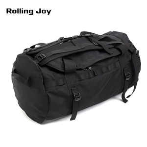 Rolling Joy Round Barrel Multifunction Custom Logo Convertible Oversized Travel Large Duffel Bag Backpack For Women Men