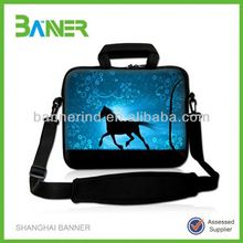 Factory colorful Handle Neoprene 13 inch tablet sleeve