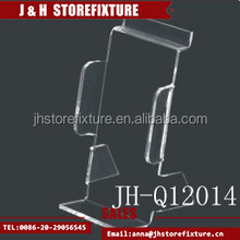 Hot selling customized design clear mobile phone display cabinet rack