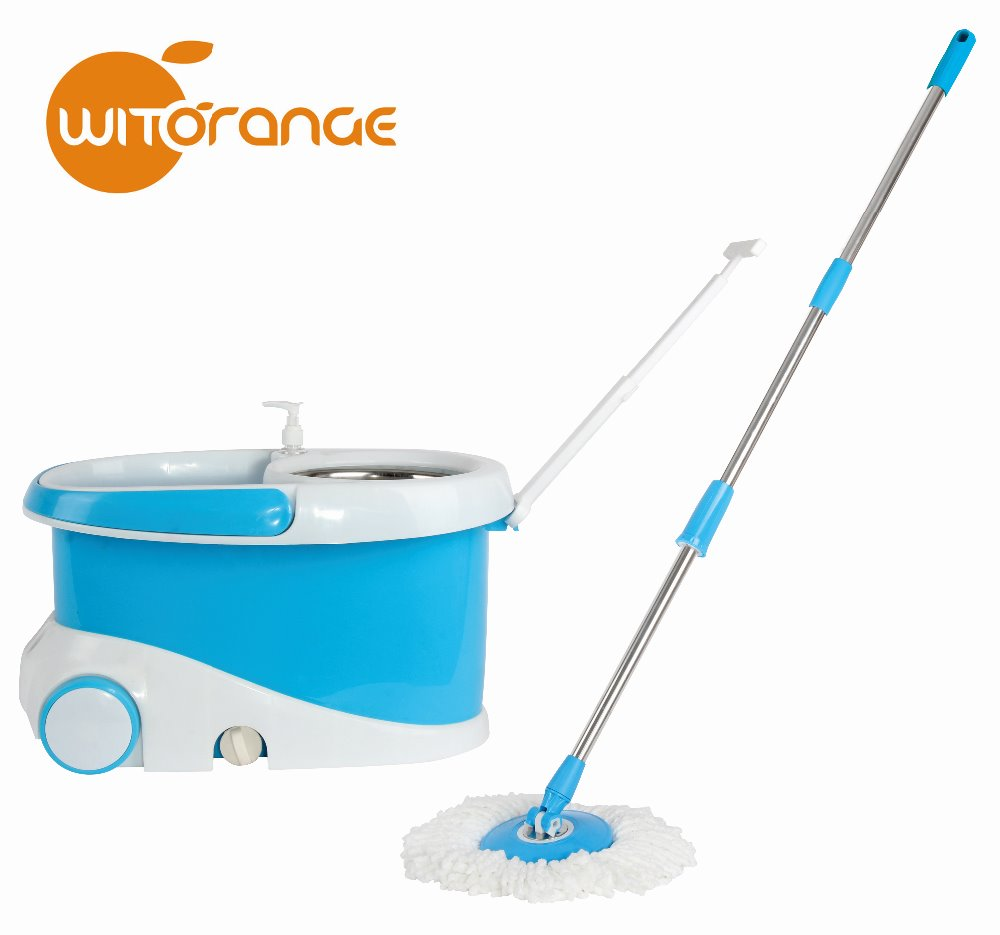 Witorange Walkable home cleaning easy life super tornado magic mop set