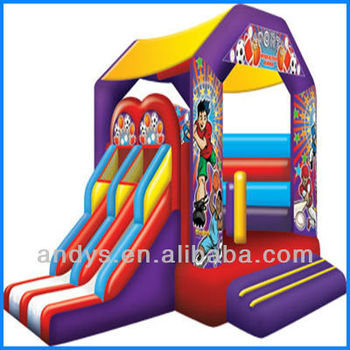 2013 New inflatable bouncer and slide combo
