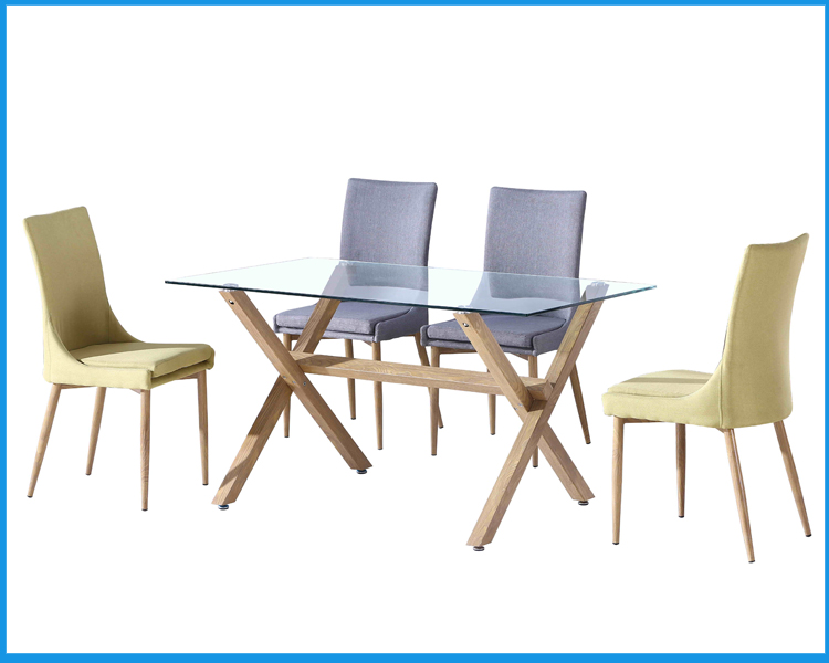 Morden design glass furniture dining room table and chairs buy dining room table and chairs - Where can i buy dining room chairs ...