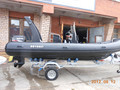RIB520 yacht rowing boats china pvc boat
