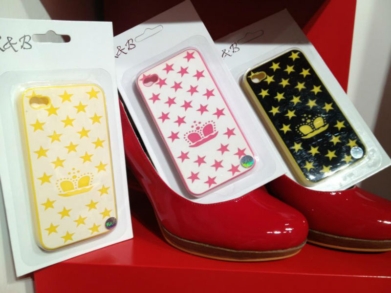 R&B Imperial crown hard phone case for IPHONE 4