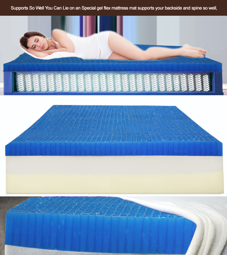 16 Years Factory OEM & ODM Custom Inflatable Medical Cooling Bed Mattress Silicone Gel Honeycomb Mattress Pads - Jozy Mattress | Jozy.net