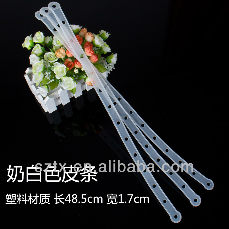 48.5cm high plastic Hanging POP Display Clip Strip for supermarkets