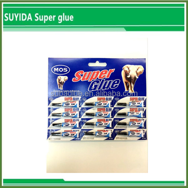 Glue for House-using , 12pcs/card super glue proved