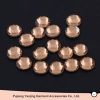 Newest factory sale different types flatback rhinestones in bulk reasonable price