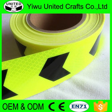 Wholesale high visibility reflective stickers warning strip for car