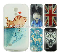 Nice Colorful Printed Hard Back Cover For Samsung Galaxy S4 Mini, Many design are available
