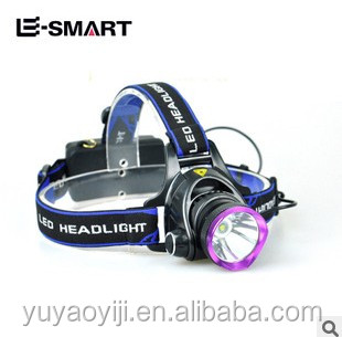 Cree Q5 headlight miner long-range rechargeable waterproof headlamp