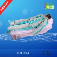 Guangzhou pressotherapy massage beauty machine portable pressotherapy far infrared slimming suit pressotherapy lymphatic