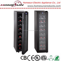 NEW hot sale 18 bottles wine bottles cooler with touch screen with CE certificate