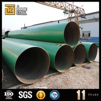 epoxy powder coated pipe for oil and gas pipe, ssaw spiral steel pipe polyethylene, epoxy coal tar pitch pipe