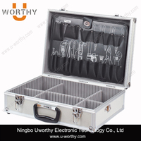 Hairdresser Barber Tool Case Aluminium Tool Case with Drawers