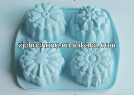low price funny silicone cake mould, cookie mould