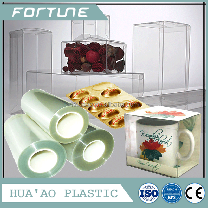 pvc Pharmace plastic roll rigid sheet