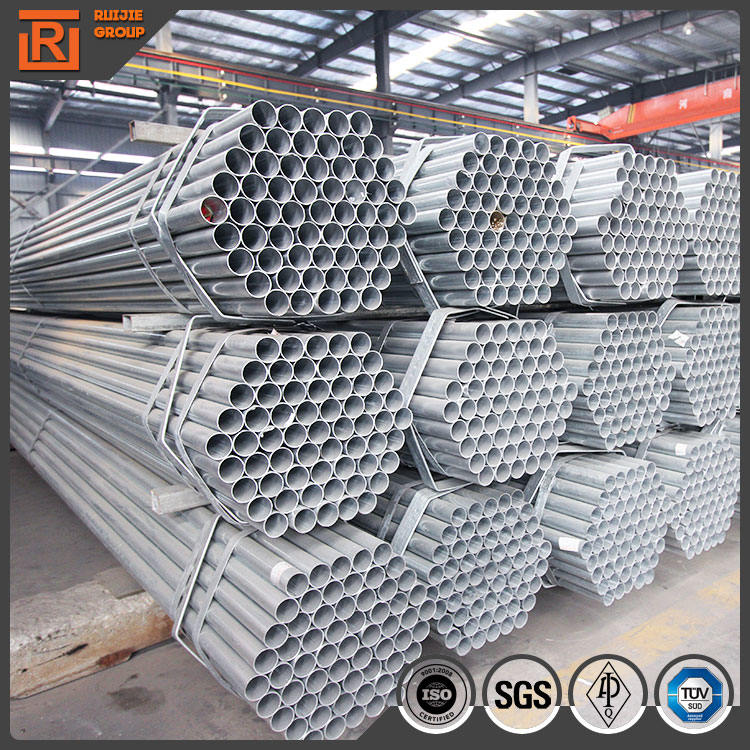 Electric Hot Dipped Galvanizing Scaffolding Tube, Zinc Coating Steel Tube